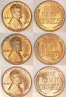 3 BU/UNC LINCOLN WHEAT CENTS  1946P 1947S 1948P   OFFER 3A 6