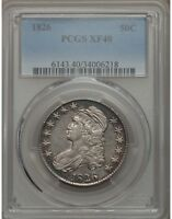 1826 50C CAPPED BUST SILVER HALF DOLLAR PCGS XF40  34006218   NICE SURFACES