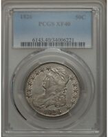 1826 50C CAPPED BUST SILVER HALF DOLLAR PCGS XF40  34006221   GREAT SURFACES