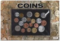 LOT OF 20 HARRIS WORLD WIDE COINS SET 5 OF 5 DIFFERENT UNCIRCULATED FOREIGN LOT