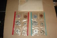 1963 MINT SET PHILADELPHIA & DENVER 90  SILVER US MINT 10 COINS W/ ENVELOPE