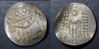 ANCIENT  CELTIC IMITATING THASOS. AR TETRADRACHM 2ND 1ST C. BC 15.8G  E008