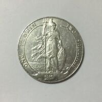 1910 GREAT BRITAIN ONE FLORIN TWO SHILLINGS EDWARD VII