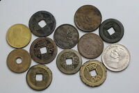 CHINA   THAILAND OLD COINS A76 ZK14