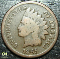 1865 INDIAN HEAD CENT      MAKE US AN OFFER   Y9443