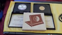 1972 JAMAICAN $20 GOLD & $10 SILVER INDEPENDENCE ANNIVERSARY MATCHING COINS