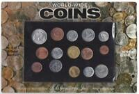 HARRIS LOT OF 15 DIFFERENT UNCIRCULATED WORLD WIDE COINS FOREIGN VALUE SET LOT 5