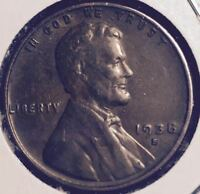 1938-S  EXTRA FINE   LINCOLN CENT  505