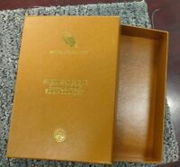 U.S. MINT 2016 AMERICAN EAGLE GOLD PROOF FOUR COIN SET BOX ONLY   LOT 69