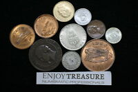 WORLD COINS USEFULL LOT LACQUERED FOR PRESERVATION A72 ZA8
