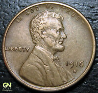 1916 S LINCOLN CENT WHEAT CENT  --  MAKE US AN OFFER  Y9627