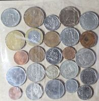 LOT OF 25 WORLDWIDE FOREIGN COINS  LOT D