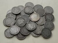 THIRTY-TWO 32 LIBERTY V-NICKELS, 1898 TO 1912    HIGHER GRADE COINS