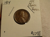 1914 LINCOLN CENT 5453