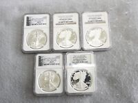 2011 25TH ANNIVERSARY SILVER EAGLE ALL MS70 & PF70 - SOME EARLY RELEASES