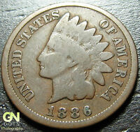 1886 TYPE 2 INDIAN HEAD CENT  --  MAKE US AN OFFER  O1029