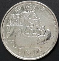 CANADA 1999 CANADIAN QUARTER 25 CENTS MAY   MAI COIN.