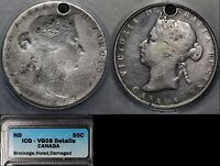 Click now to see the BUY IT NOW Price! ELITE COINS   50 CENTS   1870 1901 VICTORIA BROCKAGE UNIQUE  LX117