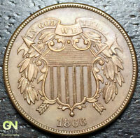 1866 2 CENT PIECE  --  MAKE US AN OFFER  Y9362