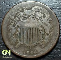 1864 2 CENT PIECE  --  MAKE US AN OFFER  Y6886