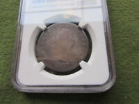 1807 DRAPED BUST HALF DOLLAR NGC G4 PHILADELPHIA MINT 50 CENT SILVER COIN GOOD 4