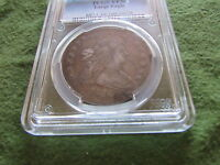 1798 DRAPED BUST SILVER DOLLAR PCGS VF30 PHILADELPHIA MINT LARGE EAGLE $1 COIN