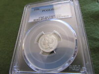 1886 THREE CENT NICKEL PCGS PR66 PROOF 66 MIRRORS 3 CENT COIN