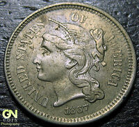 1867 3 CENT NICKEL PIECE  --  MAKE US AN OFFER  G2150