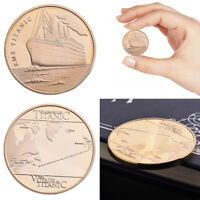 RMS TITANIC COMMEMORATIVE COIN THE VOYAGE SAILING MAP SOUVENIR COLLECTION GIFTS