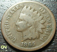 1865 INDIAN HEAD CENT  --  MAKE US AN OFFER  Y2229