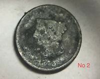 NO DATE MATRON OR CORONET  HEAD LARGE CENT TYPE PENNY