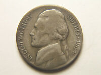 1944 S WARTIME SILVER ALLOY NICKEL