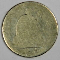 1845 SEATED HALF DIME   NO PROBLEM AG  PRICED RIGHT