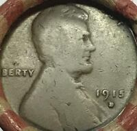 1921-S & 1915-D END COINS - EARLY DATES &