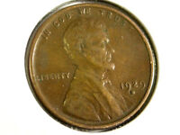 1929-D  LINCOLN WHEAT CENT    ONE CENT U.S. COIN  A9
