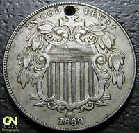 1869/1869 SHIELD NICKEL  --  MAKE US AN OFFER  R2736