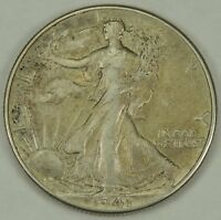 1941-P 50C WALKING LIBERTY SILVER HALF DOLLAR EXTRA FINE   052218