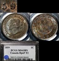Click now to see the BUY IT NOW Price! ELITE COINS   LARGE CENT VARIETY   1859 DP9 NO.2   MS63 PCGS REGISTRY  A009