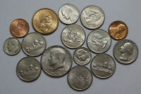USA COIN LOT WITH SILVER A92 PZI25