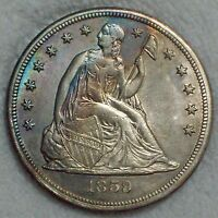 1859 S SEATED SILVER DOLLAR  SUPER  KEY  AUTHENTIC ONLY 20 0