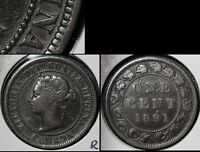 SUMMER SALE   CANADA LARGE CENT 1891 LDLL O2 FIXED N   UBER    R093