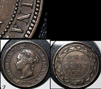 SUMMER SALE   CANADA LARGE CENT 1892 OBV.2 FIXED N IN REGINA   EF  R102