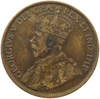 CANADA LARGE CENT 1913    QW 039