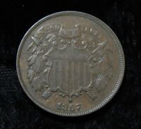 1867 TWO CENT PIECE  ULTRA HIGH GRADE