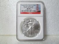 2012 S AMERICAN SILVER EAGLE NGC EARLY RELEASE MS 70