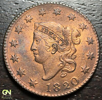 1820 CORONET HEAD LARGE CENT --  MAKE US AN OFFER  R2514
