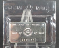 ROYAL CANADIAN MINT RCM 1 OZ. .999 SILVER BARS CONSECUTIVE SERIAL 'S D015159/60