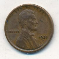 1921-S LINCOLN WHEAT CENT-  CIRCULATED CENT- SHIPS FREE