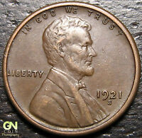 1921 S LINCOLN CENT WHEAT CENT  --  MAKE US AN OFFER  R2930
