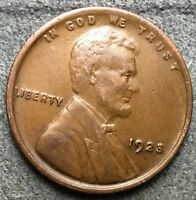 1923 P EXTRA FINE  BN LINCOLN WHEAT CENT PENNY. M823 FREE SHIP